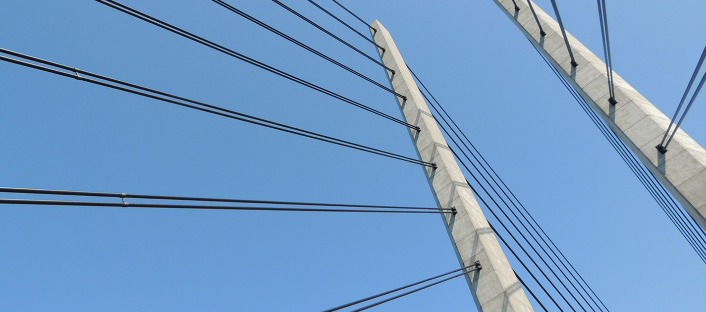 suspension bridge detail