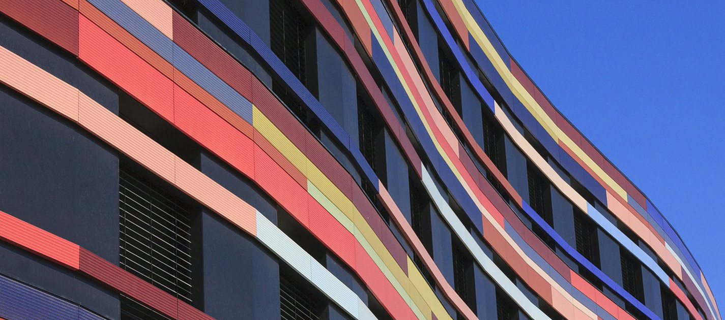 colorful building exterior